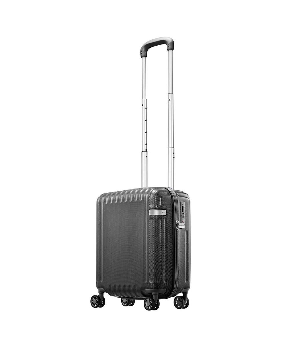 【オンワード】 ACE BAGS & LUGGAGE>バッグ ≪ace./エース≫ パリセイド2-Z スーツケース 22リットル コインロッカ ブラック F レディース 【送料無料】
