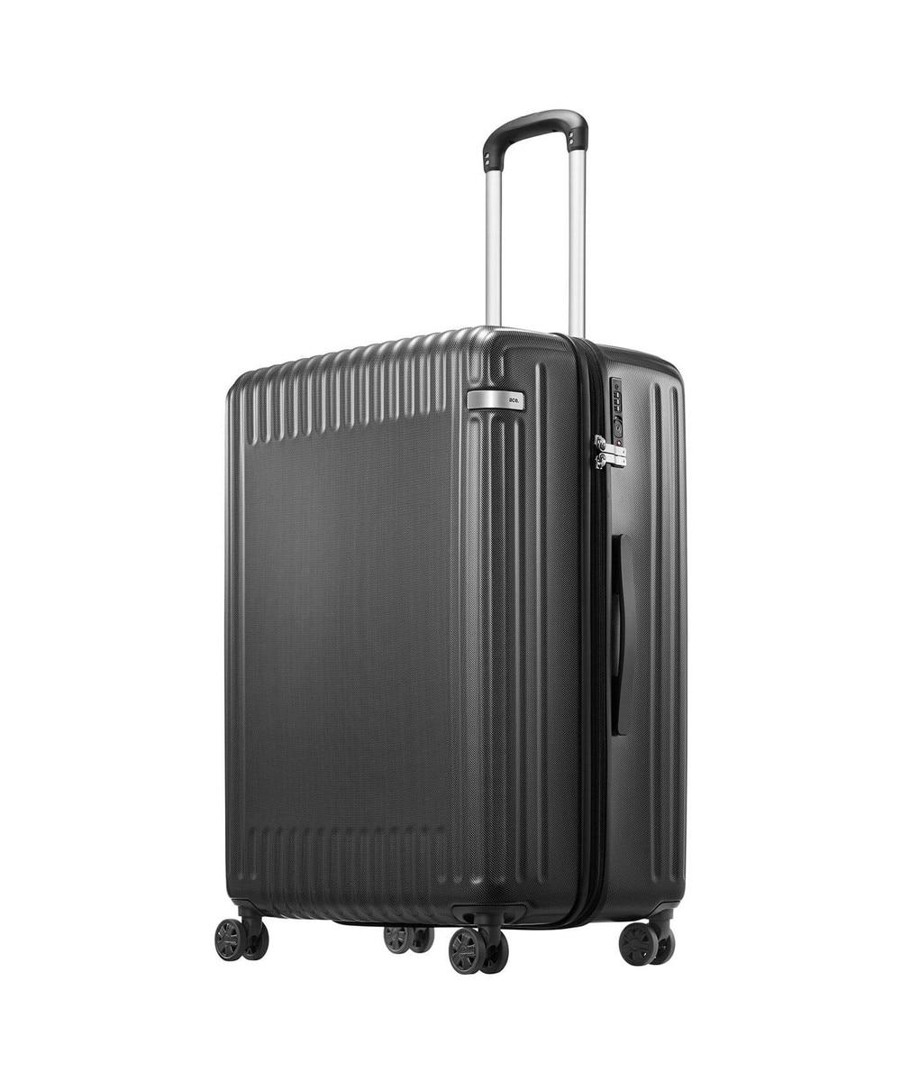 【オンワード】 ACE BAGS & LUGGAGE>バッグ ≪ace./エース≫ パリセイド2-Z スーツケース ジッパータイプ 94リット ネイビー F レディース 【送料無料】