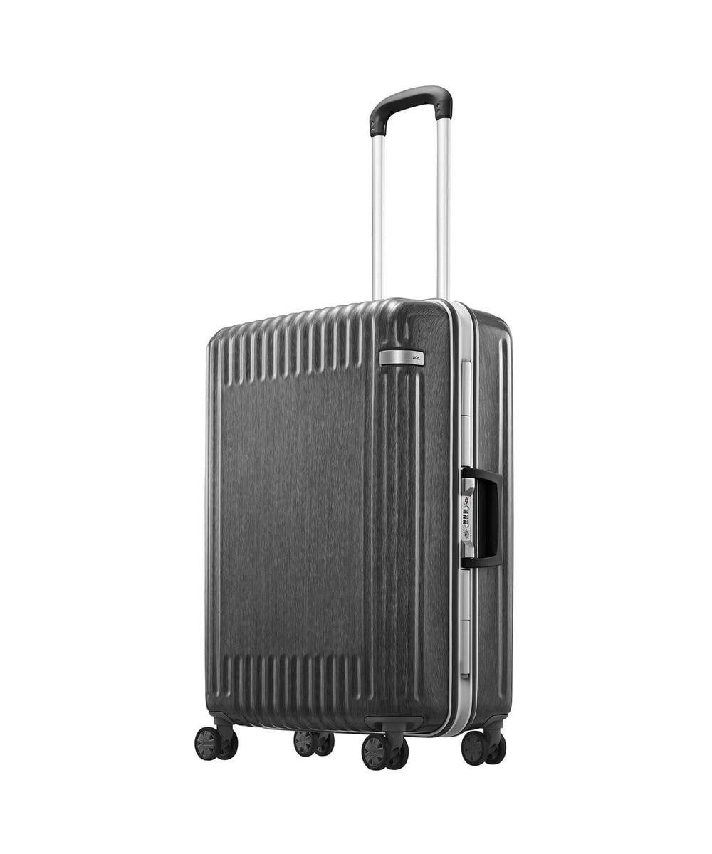【オンワード】 ACE BAGS & LUGGAGE>バッグ ≪ace./エース≫ パリセイド2-F スーツケース フレームタイプ 57リット ブラック F レディース 【送料無料】