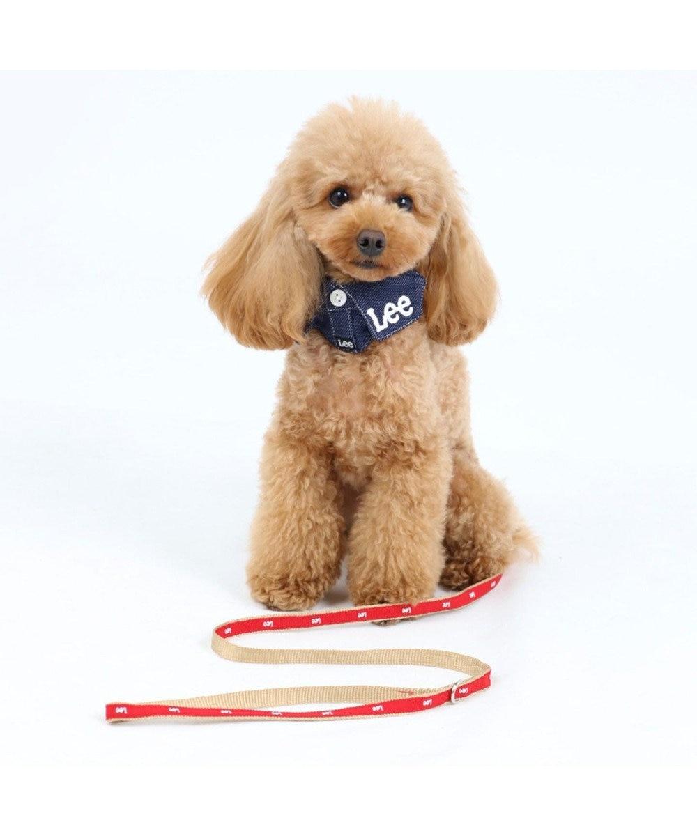 PET PARADISE Lee ロゴ リード ペットSS~S〔小型犬〕 赤