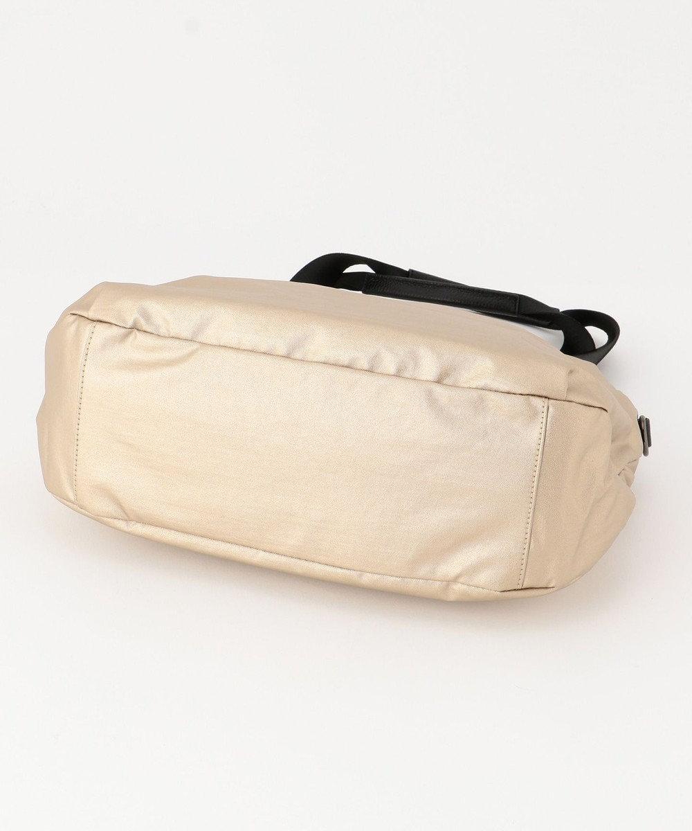 SAC ビジネスにも使える、軽量、撥水素材ハンドバッグ  Sactave ゴールド