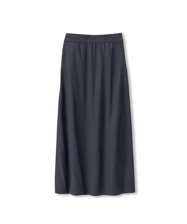 DANSKIN 【ストレッチ・UVケア・撥水】ストレッチロングスカート