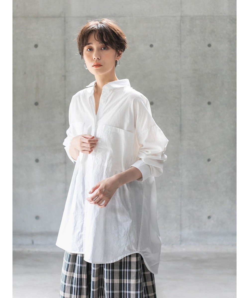 koe オーバーサイズシャツ Off White