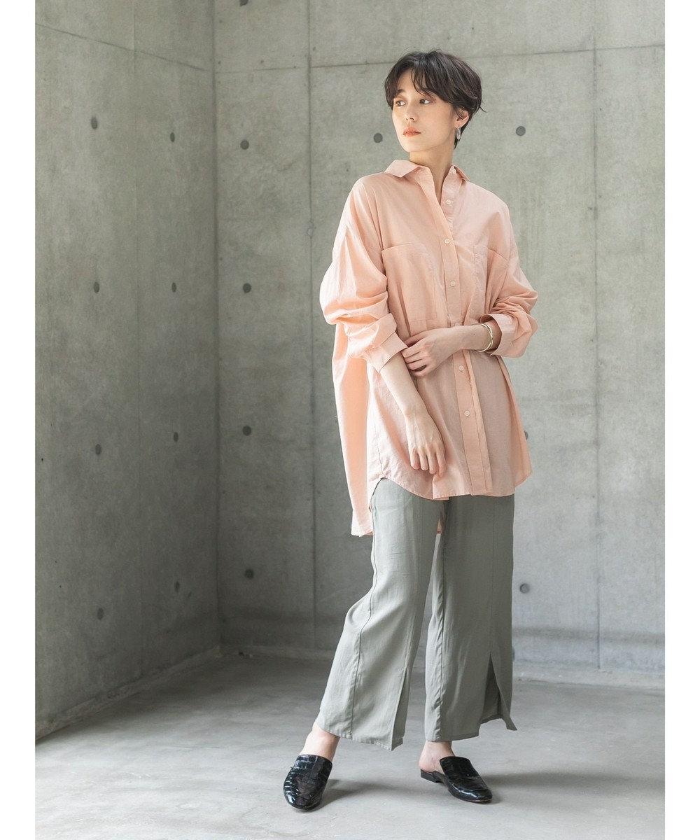 koe オーバーサイズシャツ Orange
