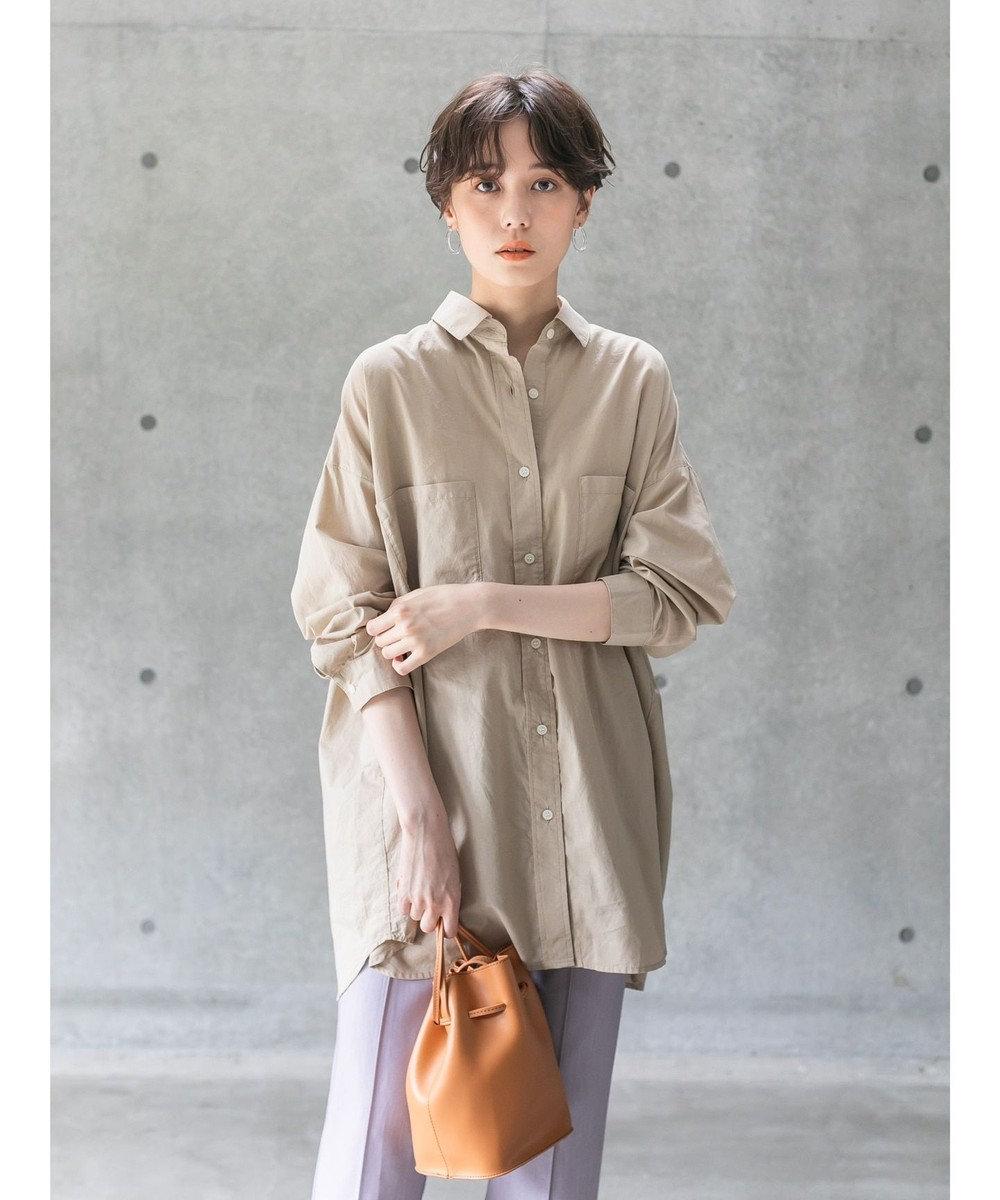 koe オーバーサイズシャツ Beige
