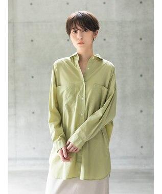 koe オーバーサイズシャツ Khaki