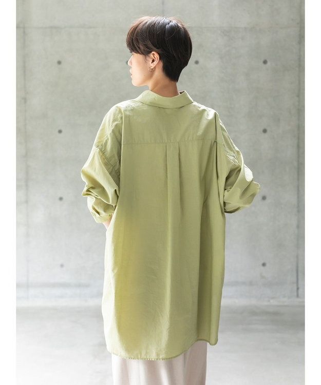 koe オーバーサイズシャツ