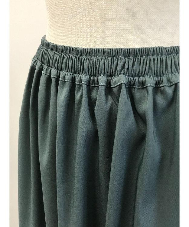 Green Parks サテンスカート