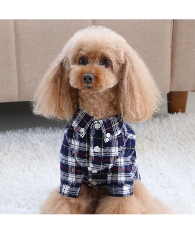 PET PARADISE J.PRESS タータンチェッ クシャツ  〔超小型・小型犬〕