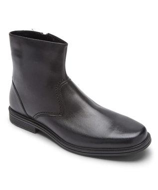 ROCKPORT 【MEN】テイラー ウォータープルーフ ジップ ブーツ ブラック