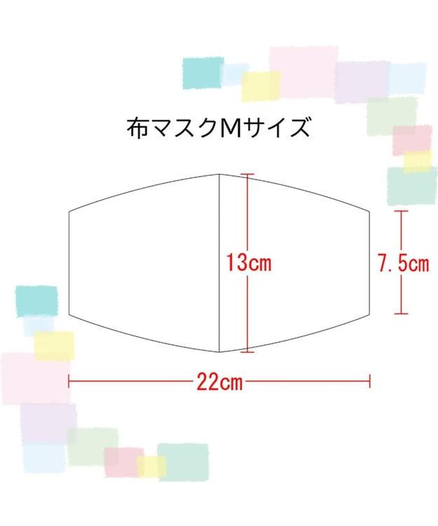 Regalo Felice 【日本製 / 制菌機能付き】マスク&ポーチセット / AG-0009S・AGAIN / KOMON
