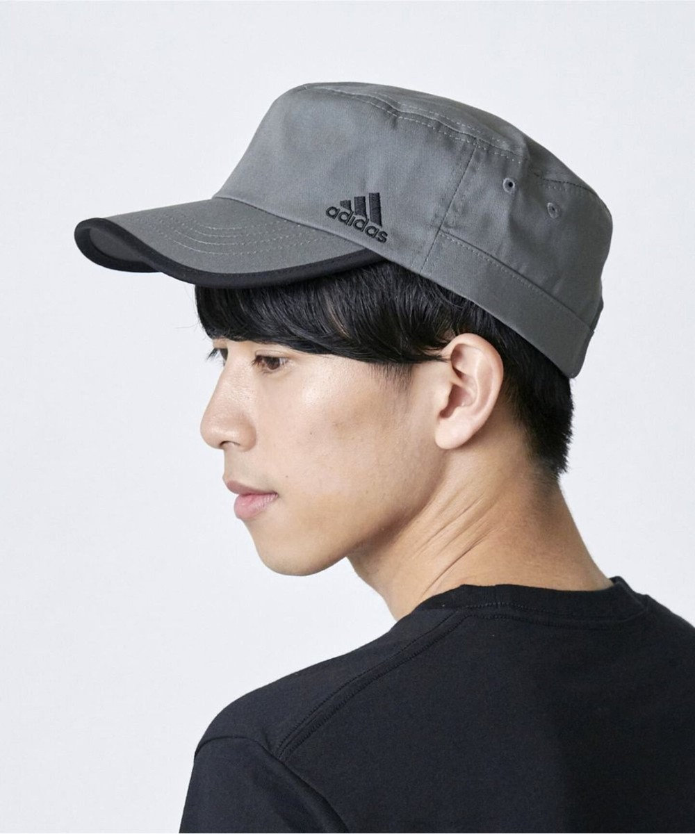 Hat Homes 【adidas/アディダス】ドゴール キャップ グレー