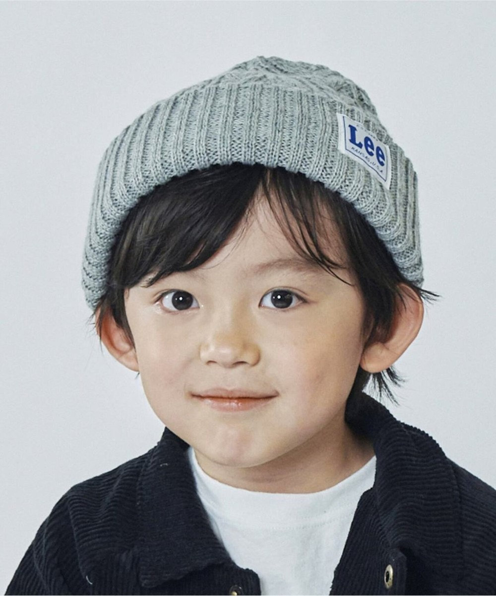 Hat Homes 【Lee KIDS/リーキッズ】ワッチ キャップ アクリル グレー