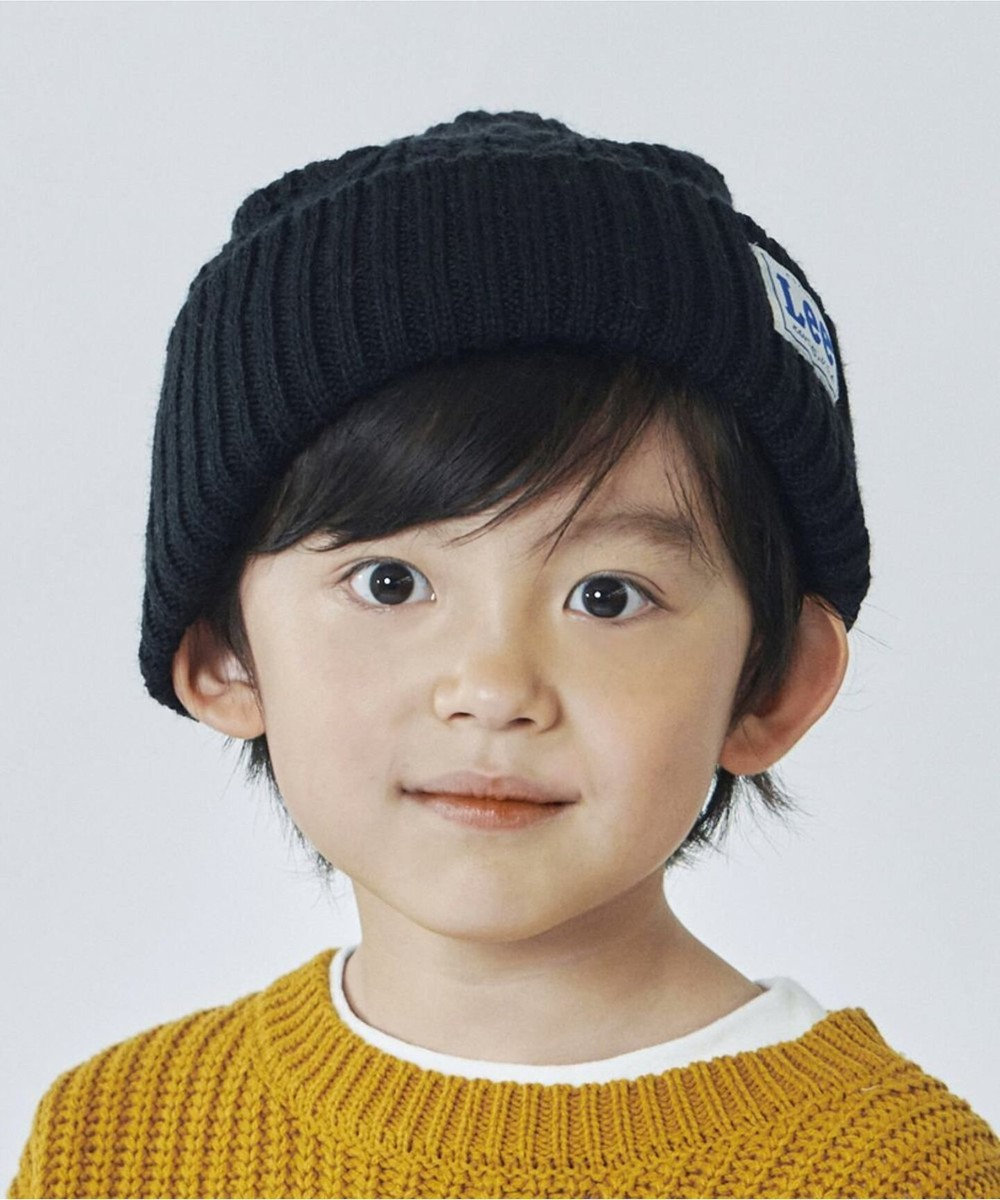 Hat Homes 【Lee KIDS/リーキッズ】ワッチ キャップ アクリル 黒