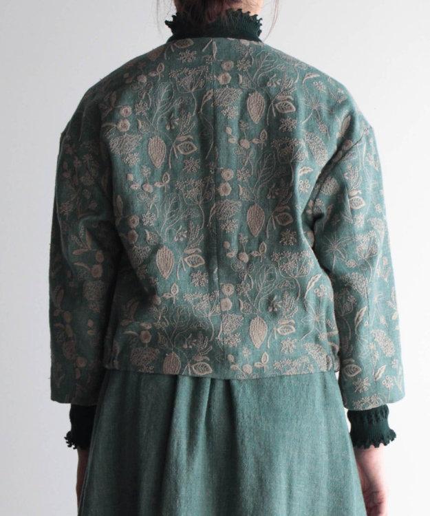 muuc 筆記帳刺繍のジャケット