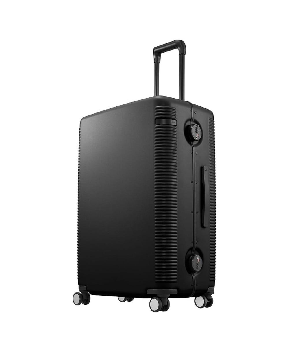 【オンワード】 ACE BAGS & LUGGAGE>バッグ ≪ace./エース≫ ウォッシュボードF スーツケース 04167 フレームタイプ 9 コズミ ブラック F レディース 【送料無料】