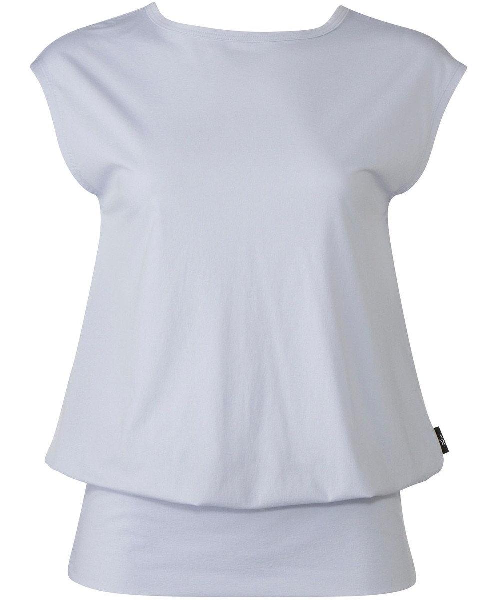 CW-X 【WOMEN】PRIME FLEX ロングTシャツ レディース /ワコール DFY590 サックス