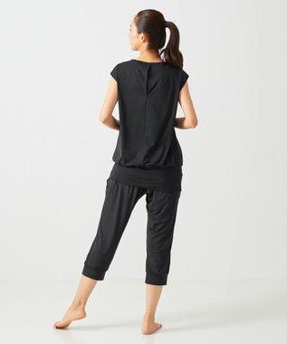 CW-X 【WOMEN】PRIME FLEX ロングTシャツ レディース /ワコール DFY590 ブラック