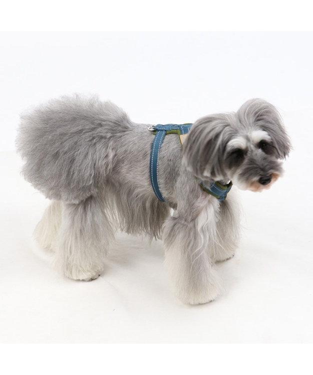 PET PARADISE ペットパラダイス アクティブハーネス 青 ペットSM 〔中型犬〕