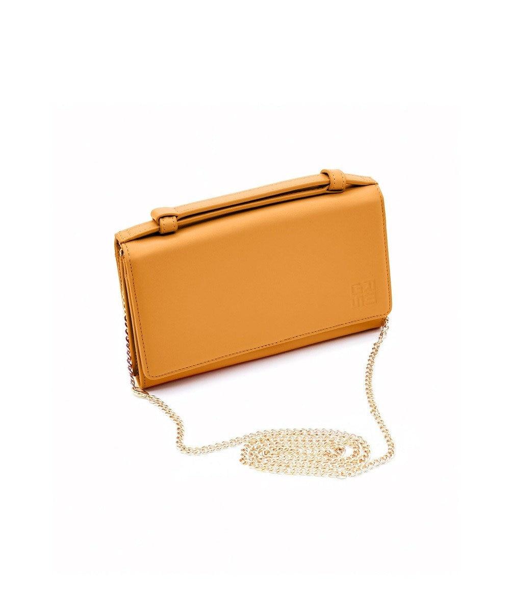 MIYABIYA GRES コパン スムースレザー お財布機能付き2wayショルダーバッグ ブリック