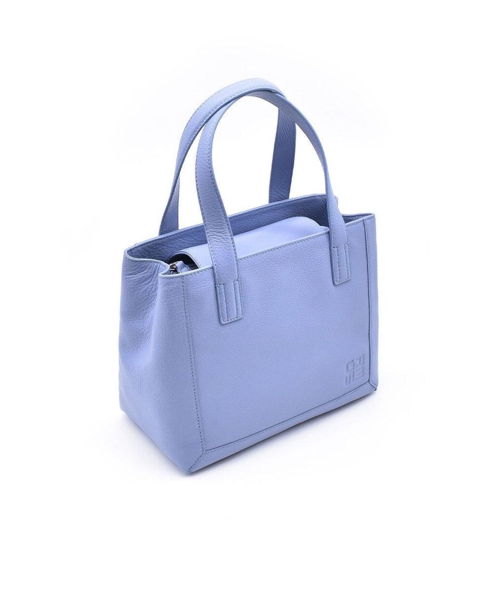 MIYABIYA GRES ロレーヌ2 イタリアンレザー トートバック ブルー