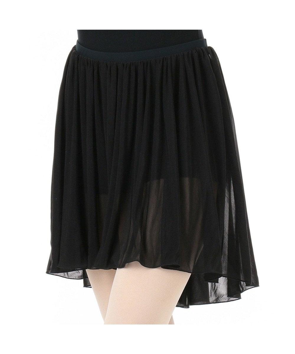 Chacott ショートスパッツ付スカート ブラック
