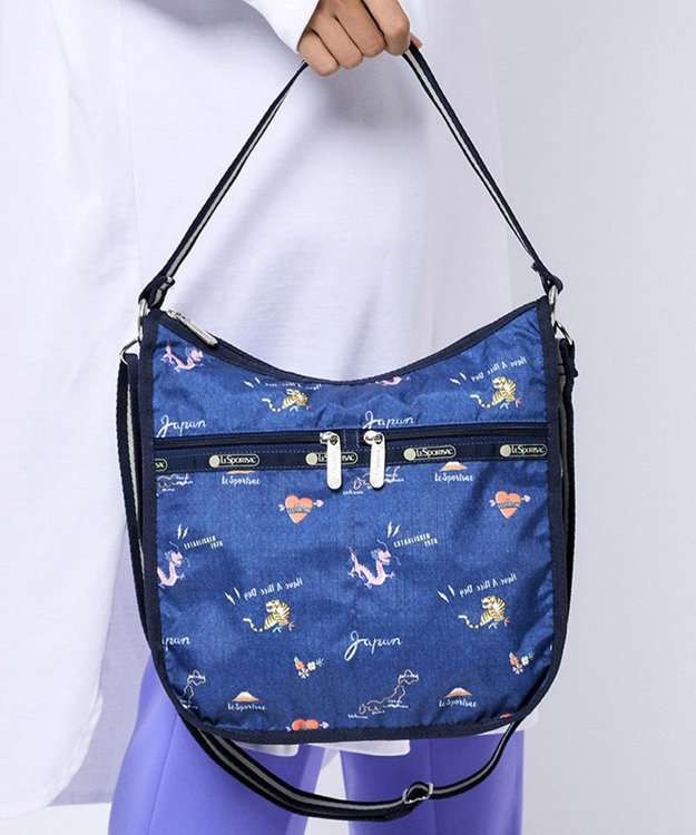 LeSportsac ELIZE HOBO/ヴィンテージ ジャポネスク