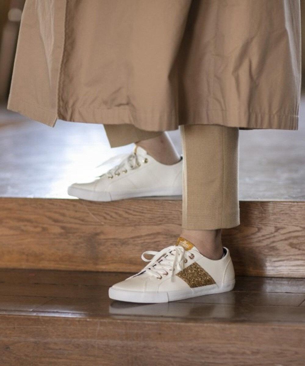 Admiral Footwear 【WOMEN】【スニーカー】WATFORD SHINE/ワトフォード シャイン White/Gold