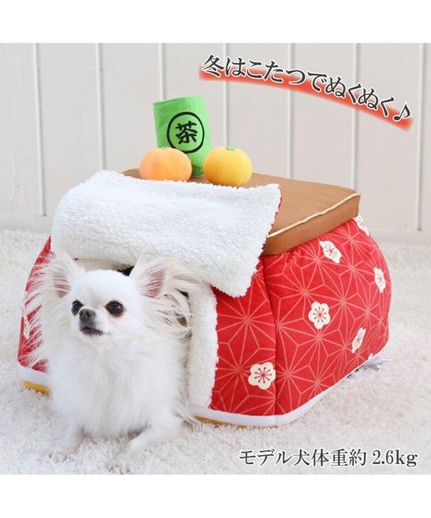 PET PARADISE ペットパラダイス こたつハウス梅 暖簾 (40cm)ペットベッド