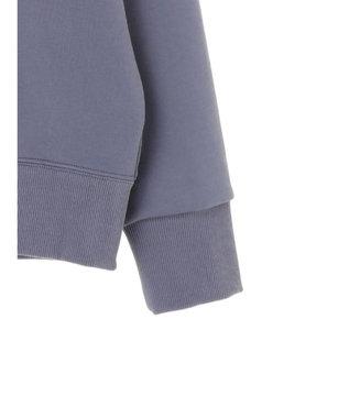 YECCA VECCA ロゴテープZIPフーディー Grayish Blue