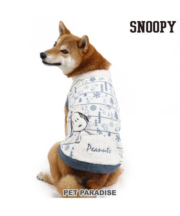PET PARADISE スヌーピー ワンダフルストレッチフロスティングトレーナー〔中型犬