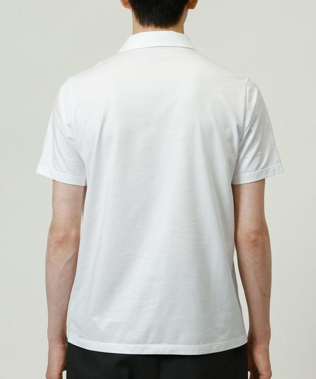 KASHIYAMA ゴールドプレミアム天竺ポロシャツ