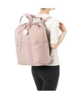 ACE BAGS & LUGGAGE ≪カナナプロジェクト コレクション≫ トートリュック 2WAY レジェ シリ ピンク