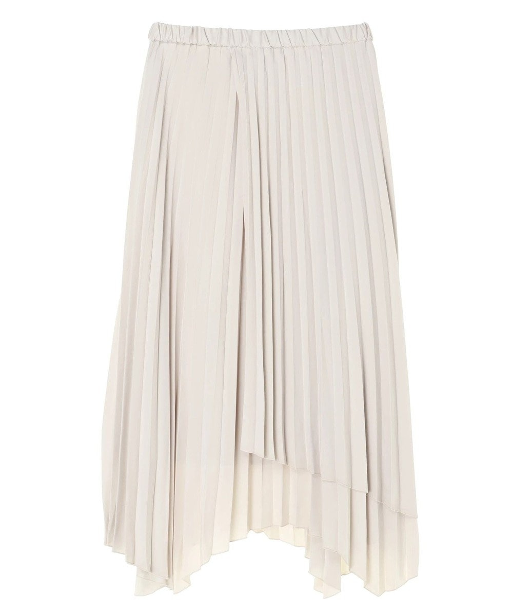 AMERICAN HOLIC イレヘムプリーツロングスカート Light Gray