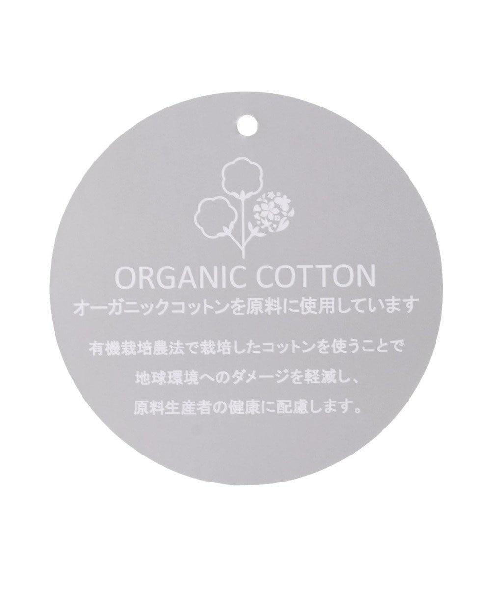 earth music&ecology オーガニックコットン裏毛(クルー) Sax