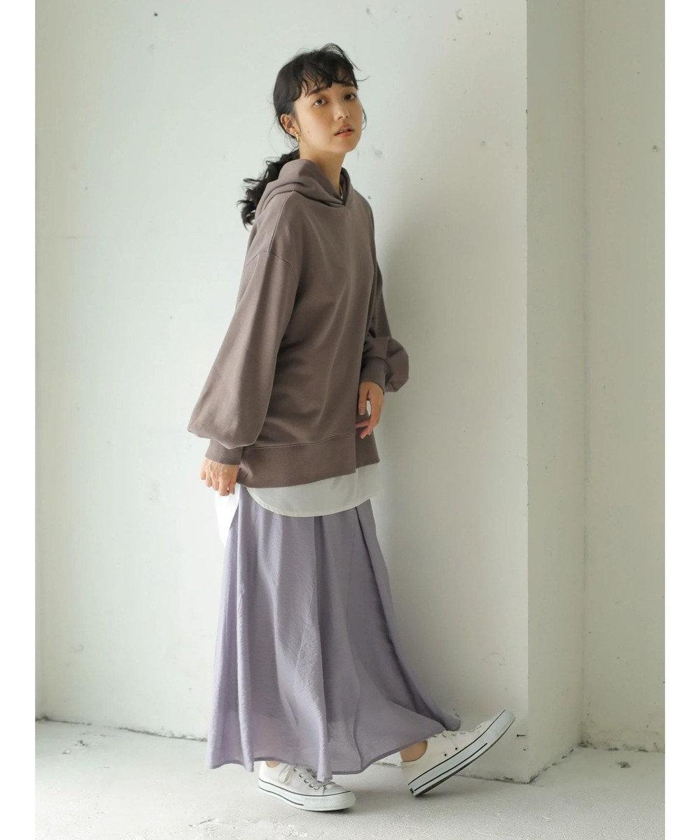 earth music&ecology 綺麗マーメイドスカート Lavender