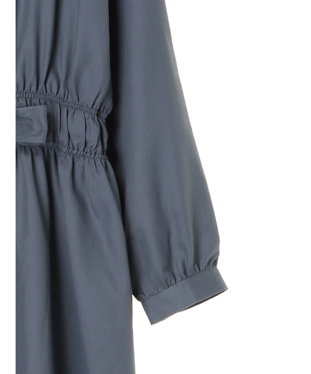 Green Parks ・ELENCARE DUE イロイロボタンワンピース Charcoal Gray