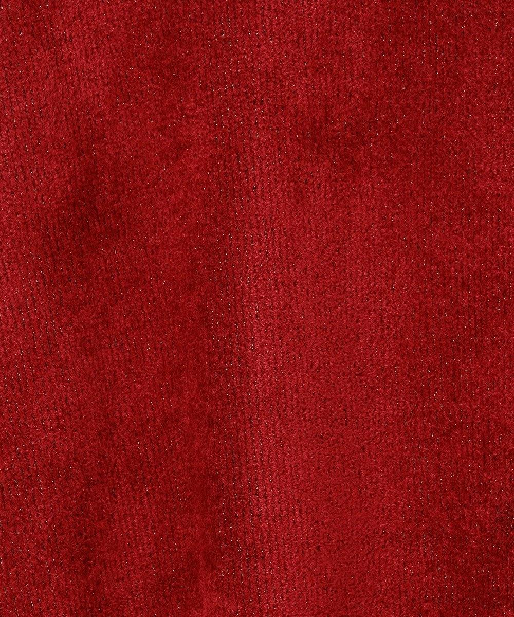 GRACE CONTINENTAL ラメプレーティングニットスカート レッド