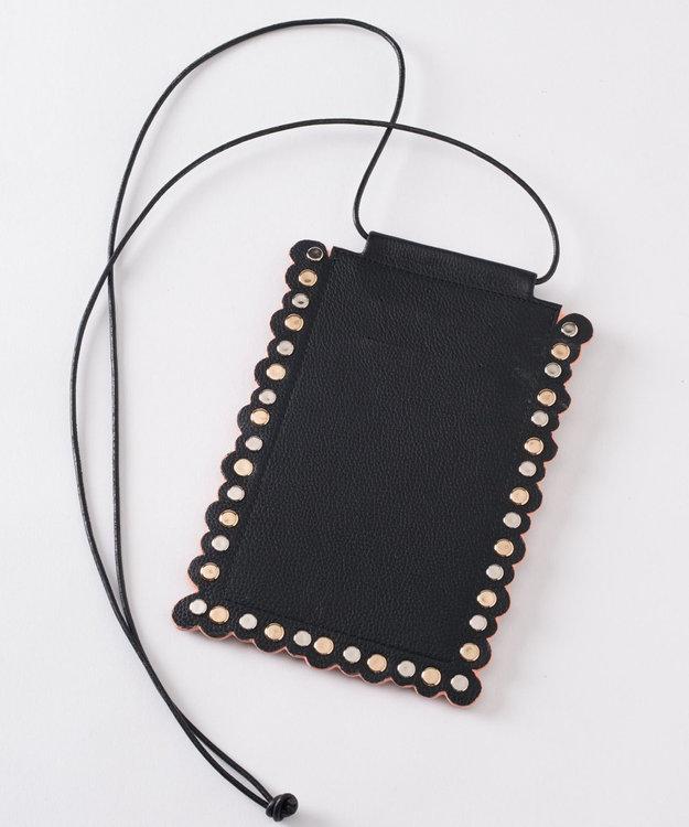 GRACE CONTINENTAL 刺繍モバイルショルダー