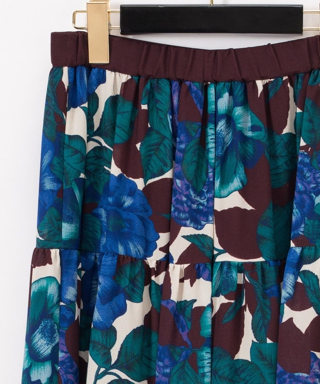 GRACE CONTINENTAL フォークロアflowerスカート