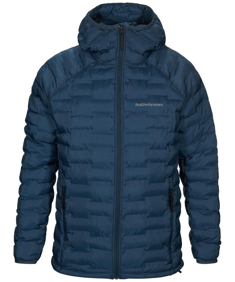 PeakPerformance Argon Light Hood Jacket Blue Steel