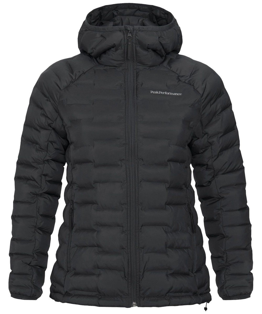 PeakPerformance W Argon Light Hood Jacket Black
