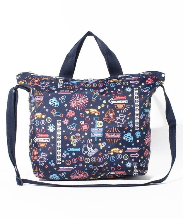 LeSportsac DELUXE EASY CARRY TOTE/ネオンナイツ