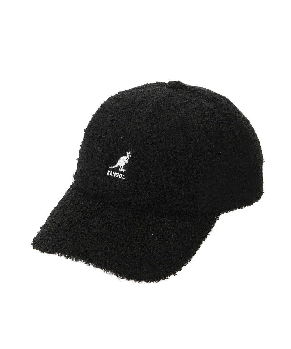 earth music&ecology ■KANGOL Sheep Fur Baseball Cap Black