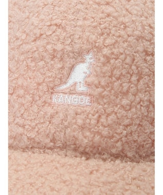 earth music&ecology ■KANGOL Sheep Fur Baseball Cap Ivory