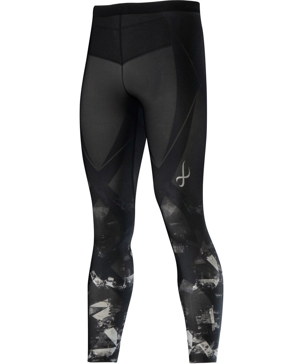 CW-X 【MEN】スポーツタイツ ジェネレーターモデル2.0 ロング/ワコール HZO699 ライトグレー