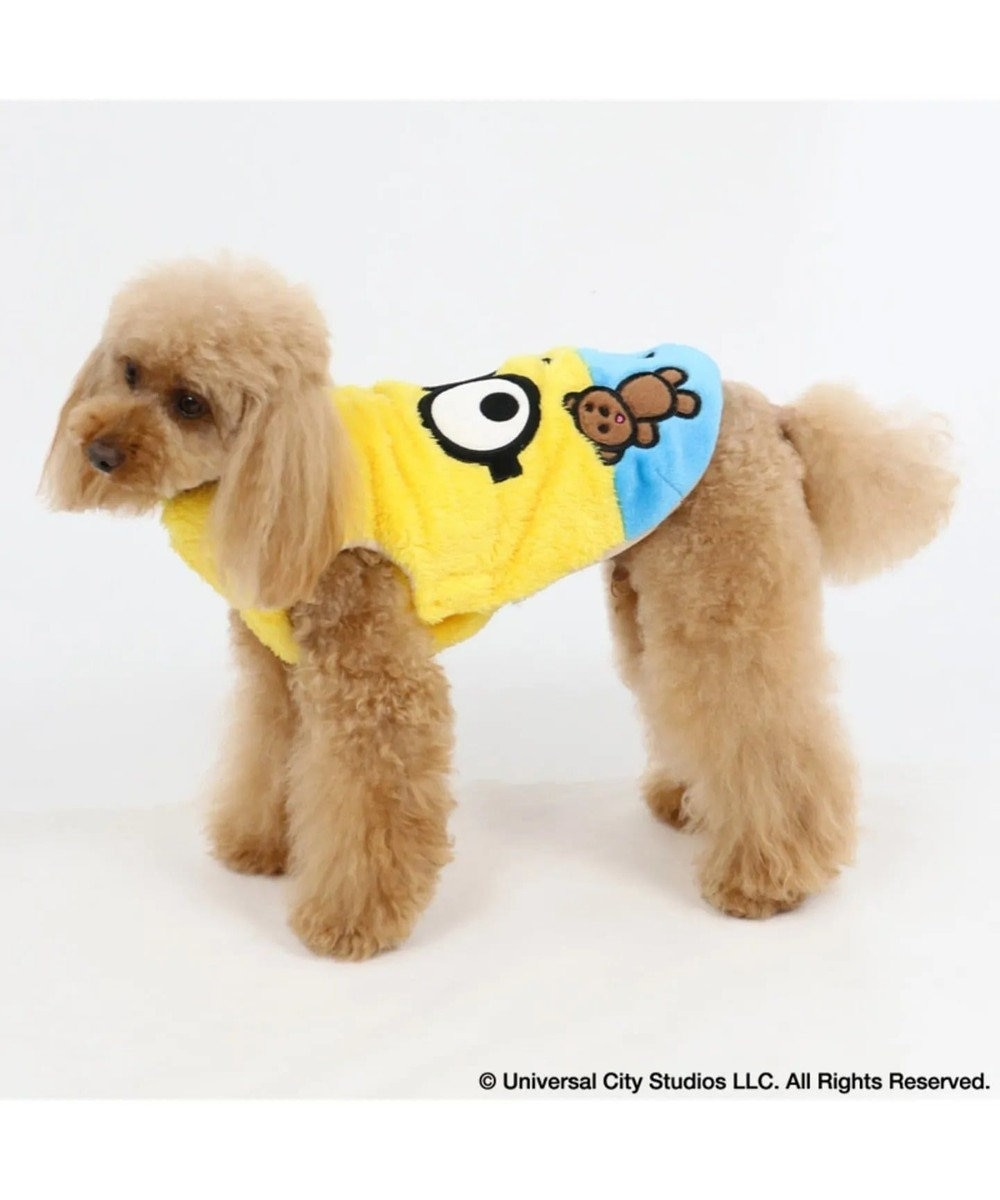 PET PARADISE ミニオン もこもこ ボブ ベスト〔小型犬〕 黄