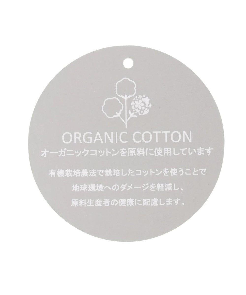 earth music&ecology オーガニックコットン裾レースチュニック Ivory