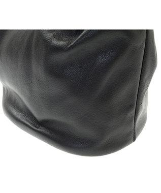 Les sacs Adam Les sacs Adam ルサックアダム マイン ショルダー付き手提げバッグ ブラック