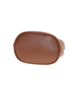 Les sacs Adam Les sacs Adam ルサックアダム マイン ショルダー付き手提げバッグ ブラウン